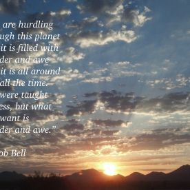 Sunrise:RobBell quote